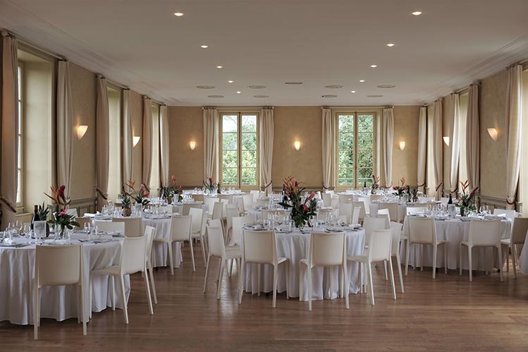 La grande salle du Château Les Bouysses