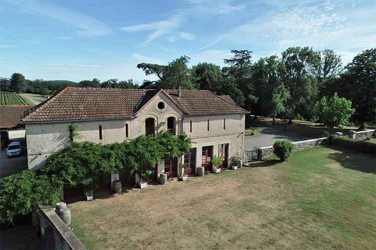 Mariage dans le Lot Orangerie du Château Les Bouysses